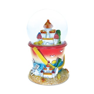 Castle Sand Bucket (65mm) Nautical Snow Globes