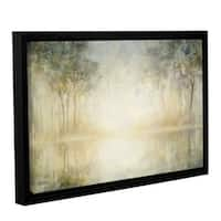 Julia Purinton's 'Morning Mist' Gallery Wrapped Floater-framed Canvas