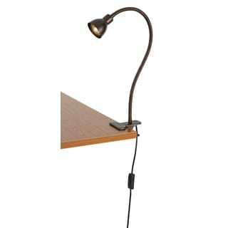 GU10 Led 6W 3000k 450-lumen Clamp-on Lamp