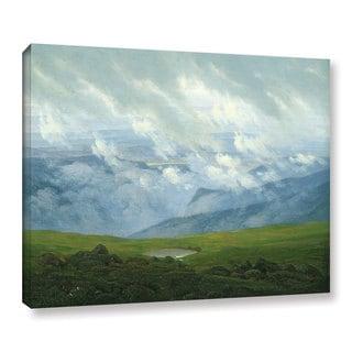 Casper David Friedrich's 'Drifting Clouds' Gallery Wrapped Canvas