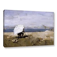 James Guthrie's 'Hard At It, 1883' Gallery Wrapped Canvas