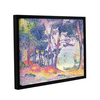 Henry-Edmond Cross's 'A Pine Grove, 1906' Gallery Wrapped Floater-framed Canvas