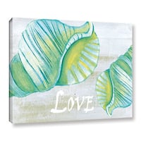 Shanni Welsh's 'Coastal Christmas' Gallery Wrapped Canvas - Multi