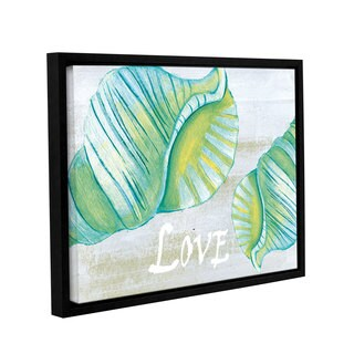 Shanni Welsh's 'Coastal Christmas' Gallery Wrapped Floater-framed Canvas