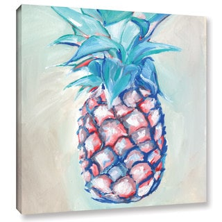 Anne Seay's 'Pineapple' Gallery Wrapped Canvas - Multi