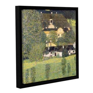 Gustav Bridgeman Klimt's 'Kammer Castle On Lake Attersee II, 1909' Gallery Wrapped Floater-framed Canvas