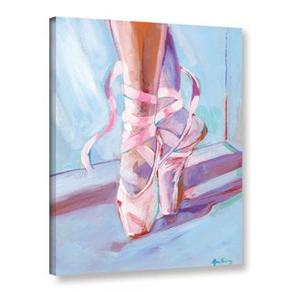 Anne Seay's 'Ballet Shoes' Gallery Wrapped Canvas - Multi