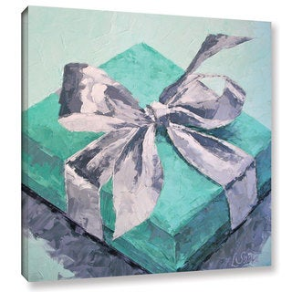 Leslie Saeta's 'It's 'All About The Box' Gallery Wrapped Canvas - Multi
