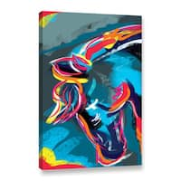 Chandler CChase's 'Horse Lines' Gallery Wrapped Canvas