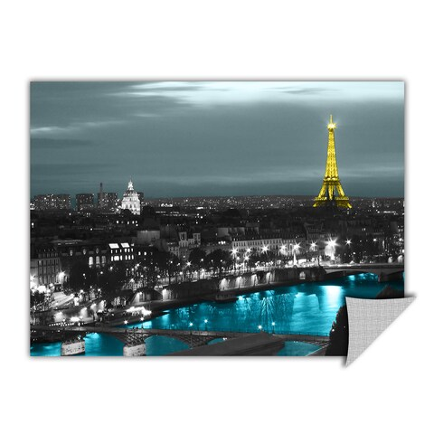 ArtAppealz Revolver Ocelot's 'Paris' Removable Wall Art Mural
