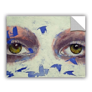 ArtAppealz Michael Creese's 'The Crow is My Only Friend' Removable Wall Art Mural