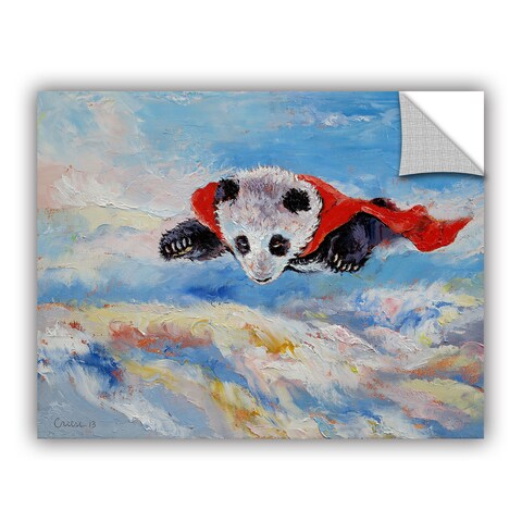 ArtAppealz Michael Creese's 'Panda Superhero' Removable Wall Art Mural