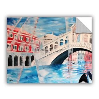 ArtAppealz Marcus/Martina Bleichner's 'Rialto Bridge' Removable Wall Art Mural