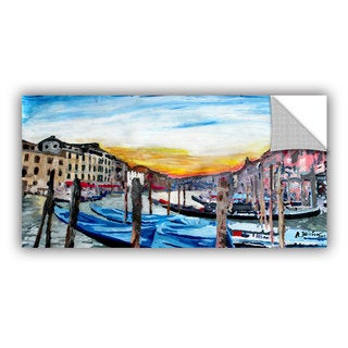 ArtAppealz Marcus/Martina Bleichner's 'Gondolas on anale Grande in Venice' Removable Wall Art Mural
