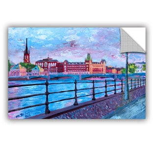 ArtAppealz Marcus/Martina Bleichner's 'Stockholm City View' Removable Wall Art Mural