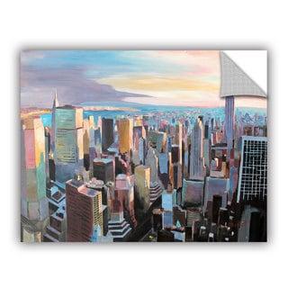 ArtAppealz Marcus/Martina Bleichner's 'New York City Skyline in Sunlight' Removable Wall Art Mural