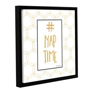 Jennifer Pugh's '# Nap Time' Gallery Wrapped Floater-framed Canvas