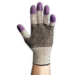 Jackson Safety* G60 PURPLE NITRILE Cut Resistant Gloves, Small/Size 7 (S), BE/WE, Pair