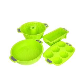 4-piece Silicone Bakeware Set
