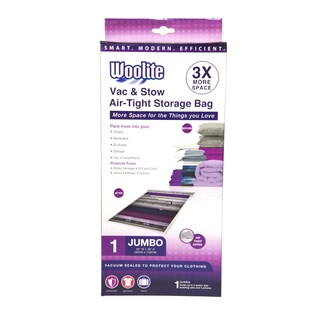 Woolite Nylon Airtight Jumbo Vacuum Storage Bag
