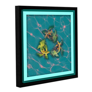 Chandler CChase's 'Fish' Gallery Wrapped Floater-framed Canvas