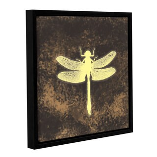 Chandler CChase's 'Dragonfly' Gallery Wrapped Floater-framed Canvas