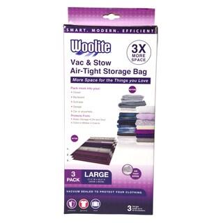 Simplify Woolite 3-piece Airtight Large Vacuum Storage Bags
