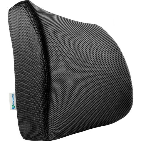 PharMeDoc Lumbar Pillow Support Cushion Lower Back Sciatica and Tailbone Pain Relief Orthopedic Contour Foam Wedge