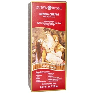Surya Brasil Henna Cream Ash Blonde