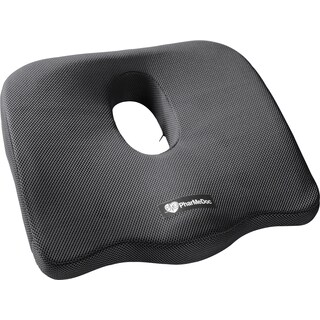 PharMeDoc Orthopedic Coccyx Seat Cushion Foam Tailbone Pillow Relieves Sciatica, Back, and Tailbone Pain