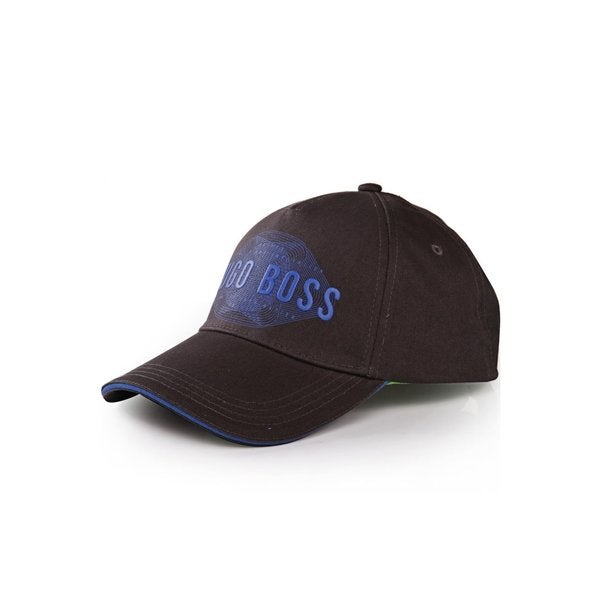 ccc6d795 Shop Hugo Boss Navy Blue Cotton Logo Cap - Free Shipping Today ...