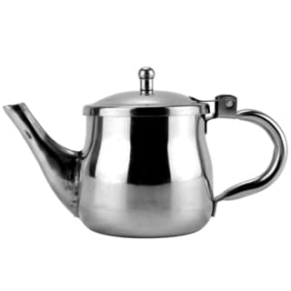 Stainless Steel 10-ounce Teapot