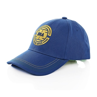 Hugo Boss Brazil Blue and Yellow Cotton Baseball Team Cap