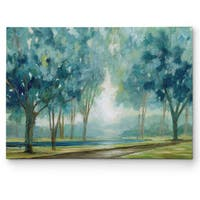 Ombre Afternoon Canvas Wall Art