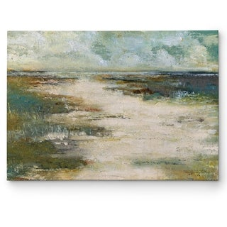 Janet Tava 'Misty Coast' Gallery-wrapped Print