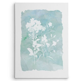 Wexford Home Carol Robinson 'Silhouette Botanical III' Gallery-wrapped Canvas Wall Art