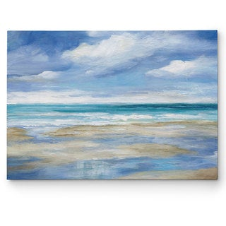Wexford Home 'Washy Coast I' Wrapped Canvas Art