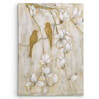 Janet Tava 'Song of Spring I' Canvas Print