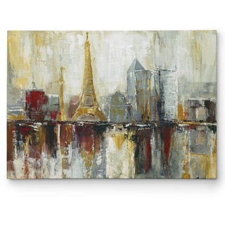 Wexford Home 'Paris Icons' Multicolored Canvas Artwork