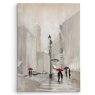 Wexford Home Janet Tava 'New York Shadows' Gallery-wrapped Canvas Art