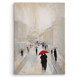 Wexford Home 'Misty in Paris' Canvas Wall Art