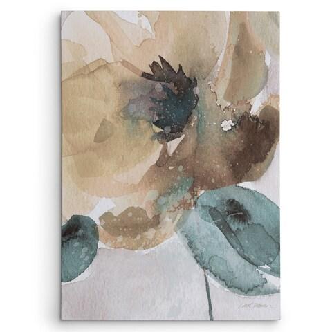 Maison Rouge 'Poppy II' Watercolor Artwork
