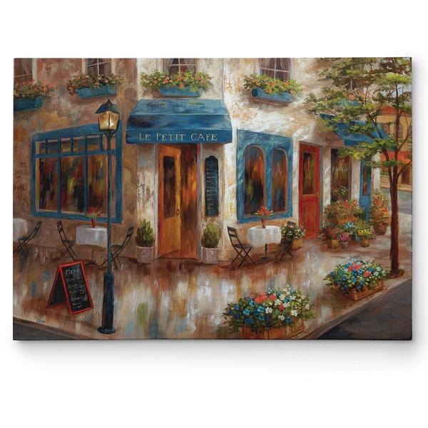 Wexford Home Nan X27 Le Pe Cafe Canvas Wall Art