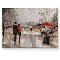 Wexford Home 'Riverwalk Charm' Canvas Wall Art
