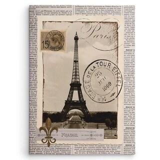 Katrina Craven 'Paris Memories' Gallery-Wrapped Canvas Wall Art