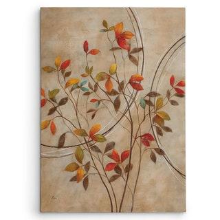 Nan 'Autumn's Delight I' Premium Gallery Wrapped Canvas Art