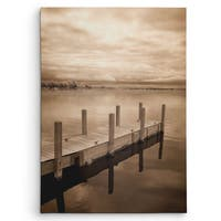Wexford Home 'North Sky I' Sepia Canvas Wall Art