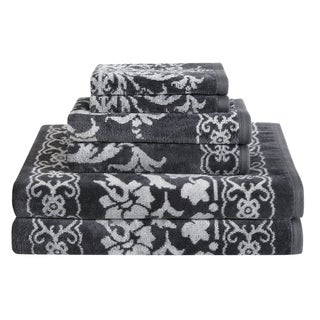 Damask 6 Piece Towel Set