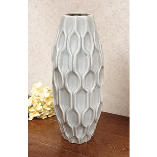 D'Lusso Designs Pastel Ceramic 16-inch Decorative Vase