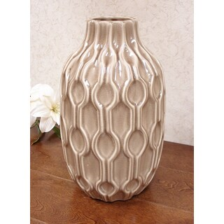 D'Lusso Designs Pastel 13-inch Deco Vase